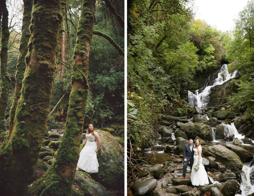 25-Kilarney-Ireland-Wedding-Photographer-by-Andrew-Vick-Photography-Fall-Autumn-Destination-First-Meeting-Look-Bride-Groom-Waterfall-Woods-Forest-Vintage-Becca-and-Donal.jpg