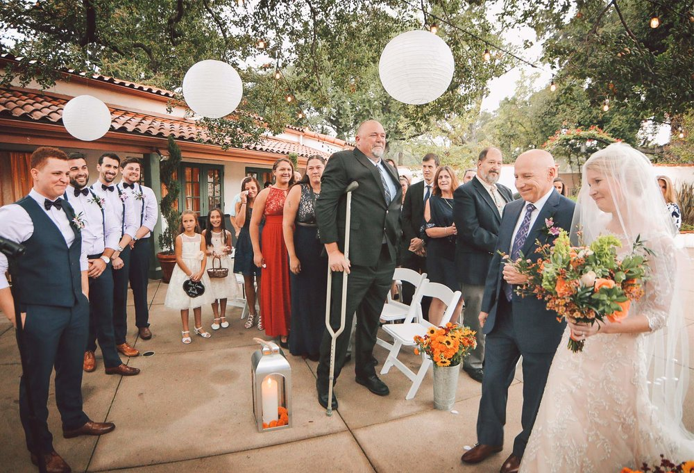 06-La-Canada-Flintridge-California-Wedding-Photographer-by-Andrew-Vick-Photography-Fall-Autumn-Destination-Ceremony-Bride-Groom-Father-Parents-Processional-Vintage-Fawn-and-Jay.jpg