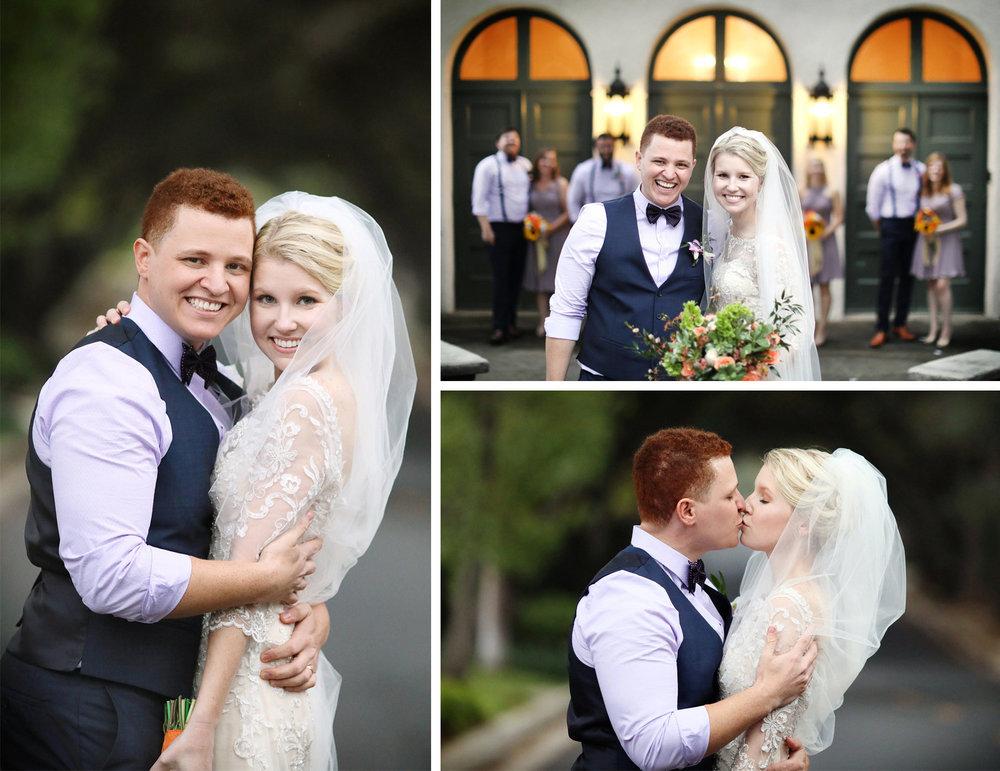 11-La-Canada-Flintridge-California-Wedding-Photographer-by-Andrew-Vick-Photography-Fall-Autumn-Destination-Bride-Groom-Bridal-Party-Bridesmaids-Groomsmen-Embrace-Kiss-Fawn-and-Jay.jpg