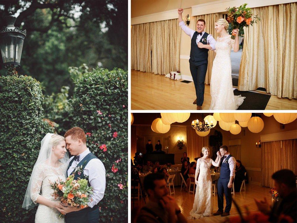 13-La-Canada-Flintridge-California-Wedding-Photographer-by-Andrew-Vick-Photography-Fall-Autumn-Destination-Reception-Bride-Groom-Grand-March-Kiss-Embrace-Vintage-Fawn-and-Jay.jpg