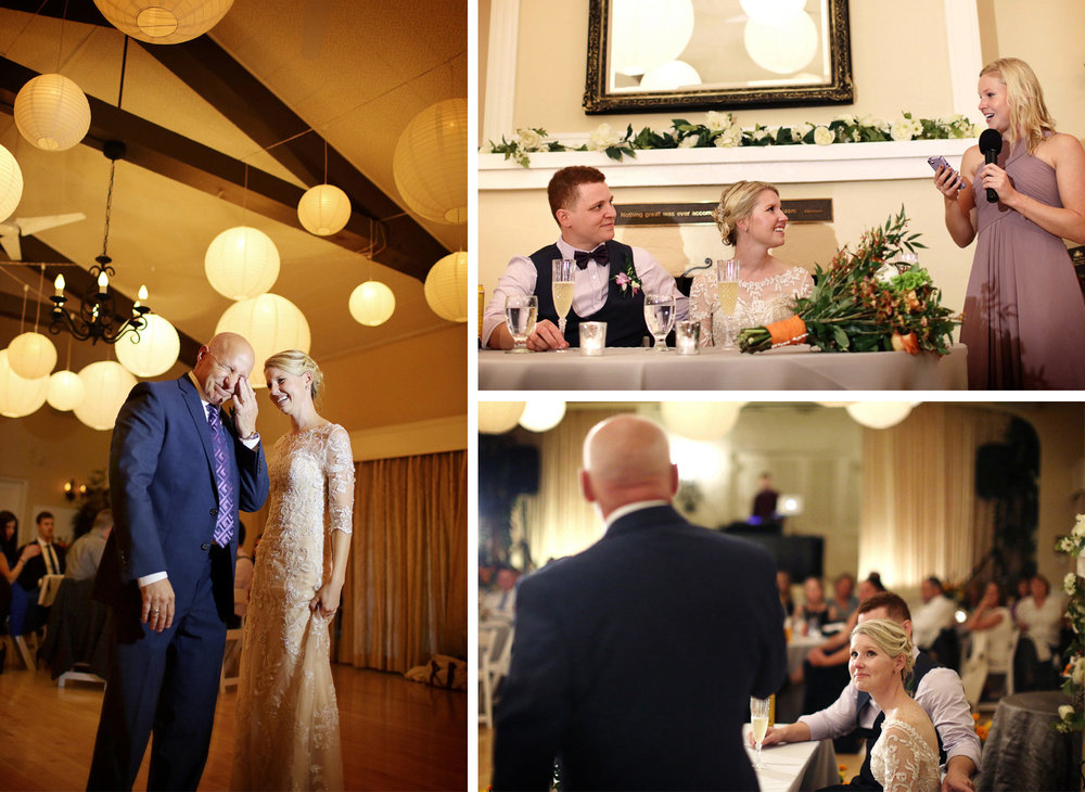 15-La-Canada-Flintridge-California-Wedding-Photographer-by-Andrew-Vick-Photography-Fall-Autumn-Destination-Reception-Bride-Groom-Father-Parents-Dance-Speaeches-Bridesmaid-Fawn-and-Jay.jpg