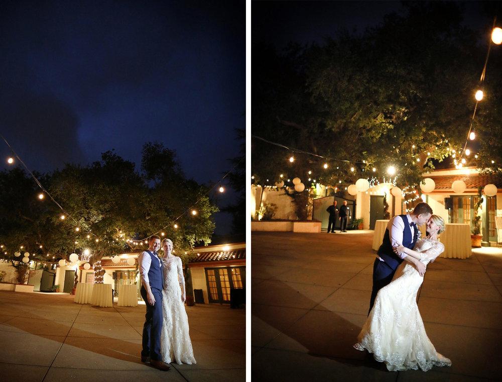 17-La-Canada-Flintridge-California-Wedding-Photographer-by-Andrew-Vick-Photography-Fall-Autumn-Destination-Reception-Bride-Groom-Night-Dip-Fawn-and-Jay.jpg