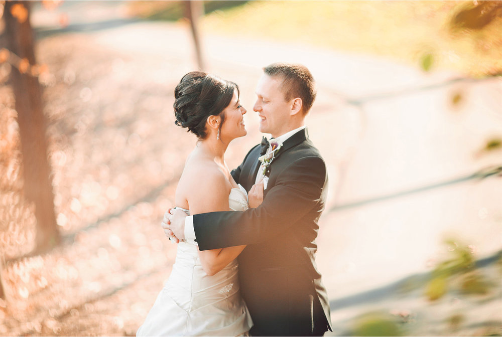 06-Eden-Prairie-Minnesota-Wedding-Photographer-by-Andrew-Vick-Photography-Fall-Autumn-Bearpath-Golf-Country-Club-First-Meeting-Look-Bride-Groom-Embrace-Hug-Vintage-Brittany-and-Ryan.jpg
