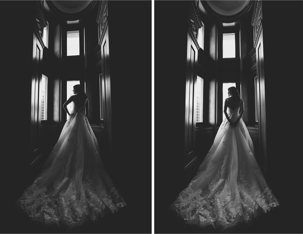 02-Saint-Paul-Minnesota-Wedding-Photographer-by-Andrew-Vick-Photography-Winter-New-Years-Eve-Embassy-Suites-Getting-Ready-Bride-Dress-Black-and-White-Emily-and-Michael.jpg