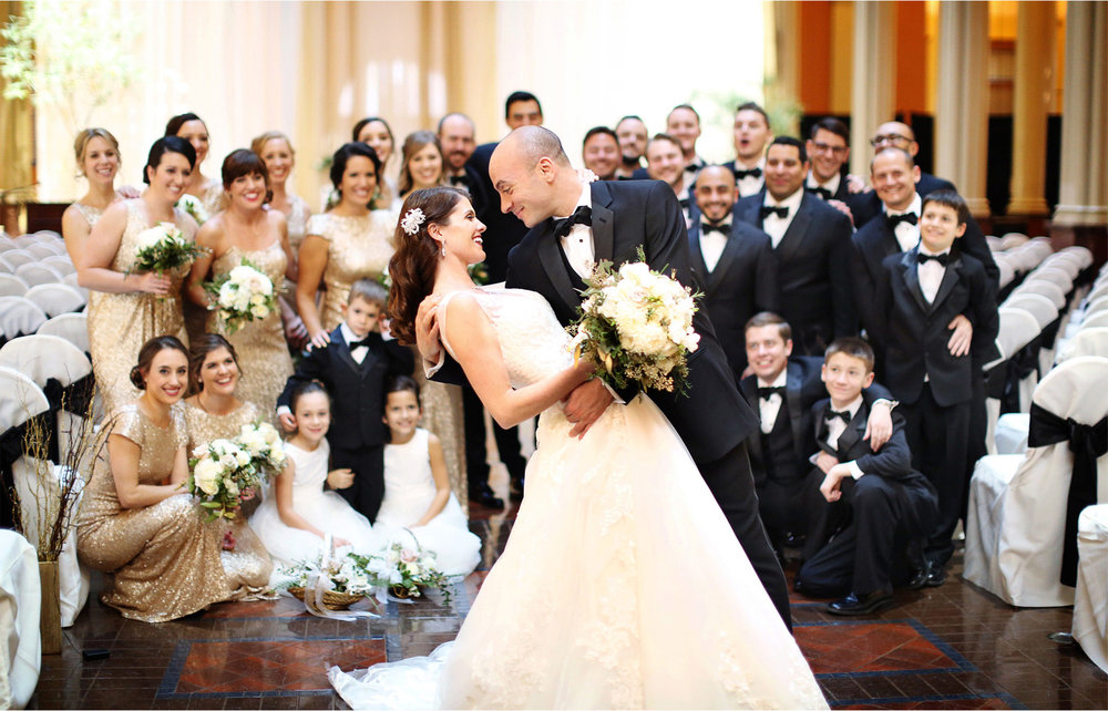 10-Saint-Paul-Minnesota-Wedding-Photographer-by-Andrew-Vick-Photography-Winter-New-Years-Eve-Landmark-Center-Bride-Groom-Bridal-Party-Bridesmaids-Groomsmen-Dip-Emily-and-Michael.jpg