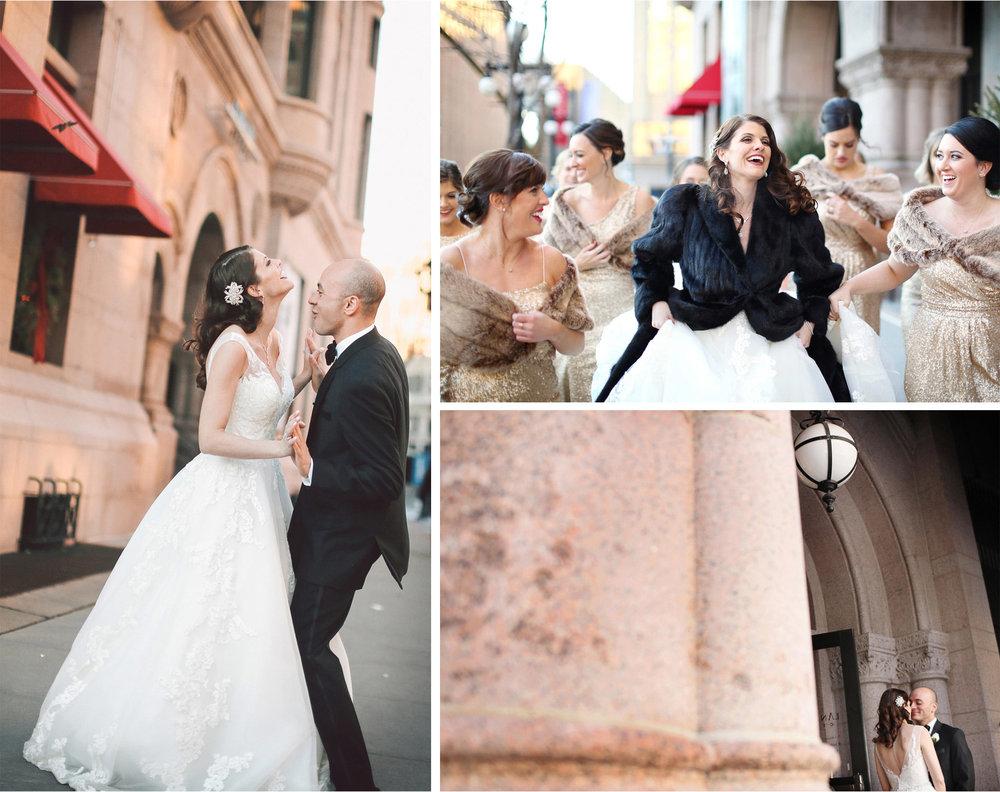12-Saint-Paul-Minnesota-Wedding-Photographer-by-Andrew-Vick-Photography-Winter-New-Years-Eve-Landmark-Center-Bride-Groom-Bridesmaids-Fur-Coat-Shrug-Embrace-Dance-Vintage-Emily-and-Michael.jpg