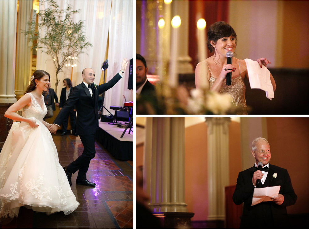 20-Saint-Paul-Minnesota-Wedding-Photographer-by-Andrew-Vick-Photography-Winter-New-Years-Eve-Landmark-Center-Reception-Bride-Groom-Grand-March-Speeches-Bridesmaid-Father-Parents-Emily-and-Michael.jpg