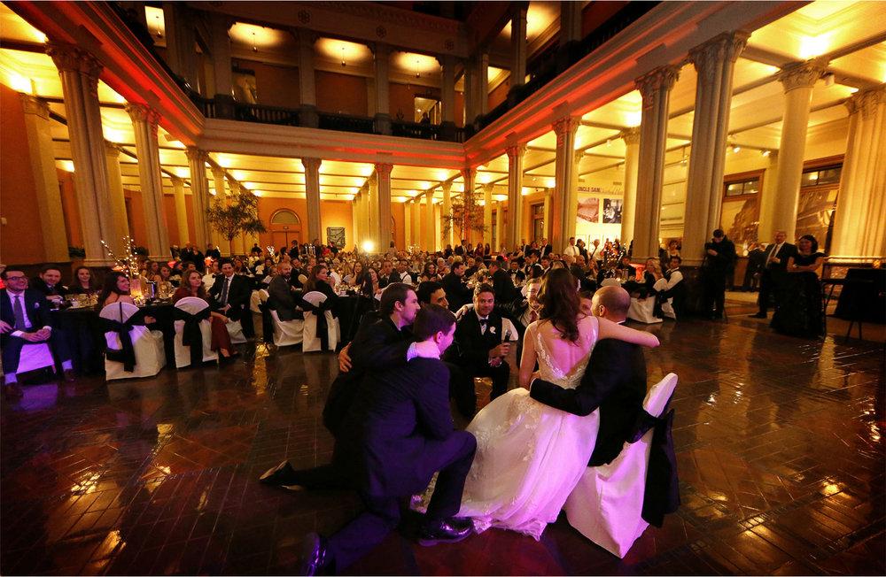 21-Saint-Paul-Minnesota-Wedding-Photographer-by-Andrew-Vick-Photography-Winter-New-Years-Eve-Landmark-Center-Reception-Bride-Groom-Speeches-Groomsmen-Guests-Emily-and-Michael.jpg