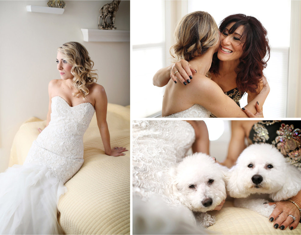 03-Warren-New-Jersey-Wedding-Photographer-by-Andrew-Vick-Photography-Winter-Parents-House-Getting-Ready-Bride-Mother-Dress-Dog-Alexia-and-Justin.jpg