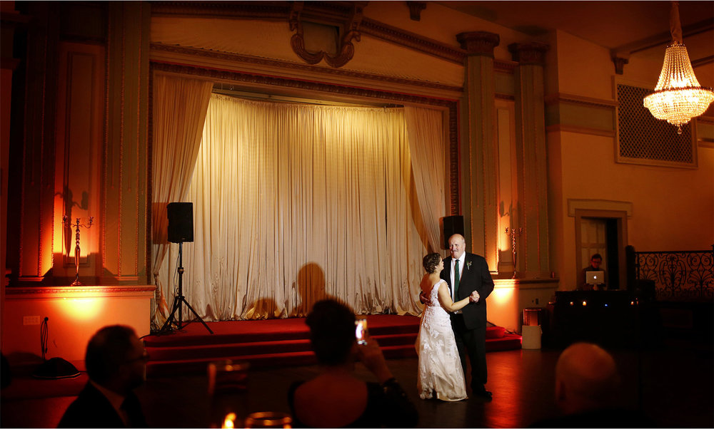 22-Chicago-Illinois-Wedding-Photographer-by-Andrew-Vick-Photography-Winter-Stan-Mansion-Reception-Bride-Father-Parents-Dance-Colleen-and-Mike.jpg