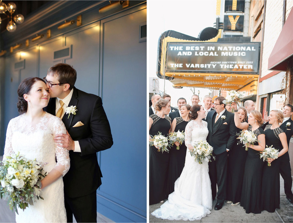 07-Minneapolis-Minnesota-Wedding-Photographer-by-Andrew-Vick-Photography-Winter-Renaissance-Hotel-First-Meeting-Look-Bride-Groom-Flowers-Varsity-Theater-Bridal-Party-Groomsmen-Bridesmaids-Sara-and-Rob.jpg