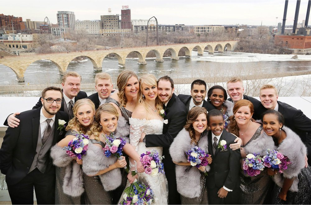 11-Minneapolis-Minnesota-Wedding-Photographer-by-Andrew-Vick-Photography-Winter-Guthrie-Theater-Bride-Groom-Bridal-Party-Bridesmaids-Groomsmen-Level-Nine-Yellow-Room-Stone-Arch-Bridge-Jennifer-and-Phillip.jpg