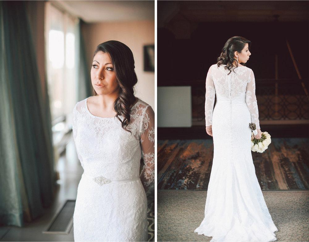 03-Minneapolis-Minnesota-Wedding-Photographer-by-Andrew-Vick-Photography-Winter-Millennium-Hotel-Getting-Ready-Bride-Dress-Lace-Flowers-Vintage-Amy-and-Jordan.jpg