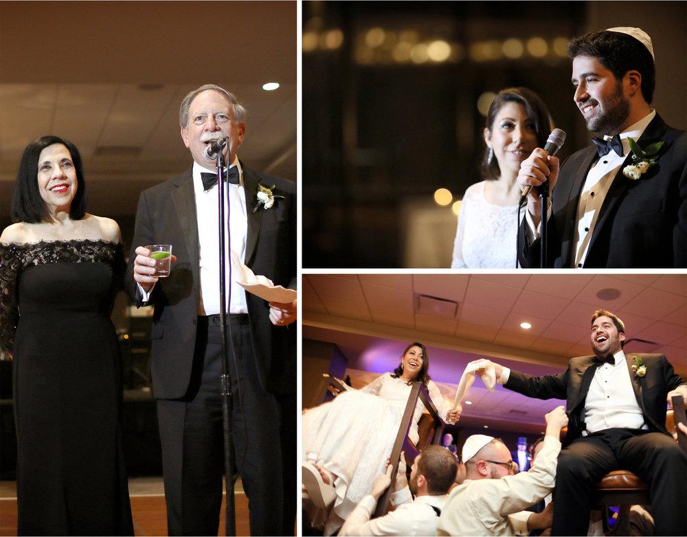 15-Minneapolis-Minnesota-Wedding-Photographer-by-Andrew-Vick-Photography-Winter-Hyatt-Regency-Hotel-Reception-Bride-Groom-Mother-Father-Parents-Speeches-Horah-Dance-Yarmulke-Amy-and-Jordan.jpg