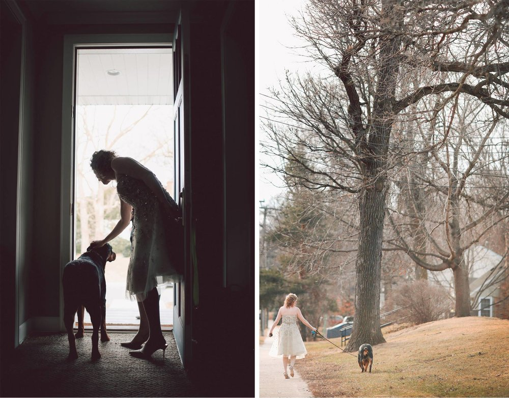 01-Edina-Minnesota-Wedding-Photographer-by-Andrew-Vick-Photography-Winter-House-Getting-Ready-Bride-Dog-Vintage-Dannette-and-Darren.jpg