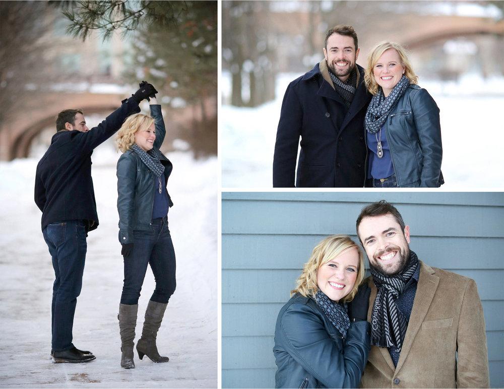 03-Edina-Minnesota-Wedding-Photographer-by-Andrew-Vick-Photography-Winter-Engagement-Bride-Groom-Snow-Twirl-Embrace-Heather-and-Rob.jpg