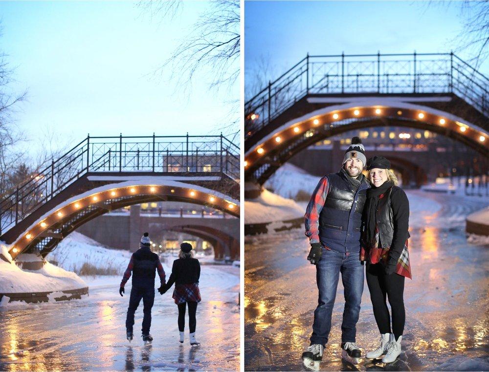 07-Edina-Minnesota-Wedding-Photographer-by-Andrew-Vick-Photography-Winter-Engagement-Bride-Groom-Snow-Bridge-Night-Lights-Ice-Skating-Frozen-Pond-Heather-and-Rob.jpg