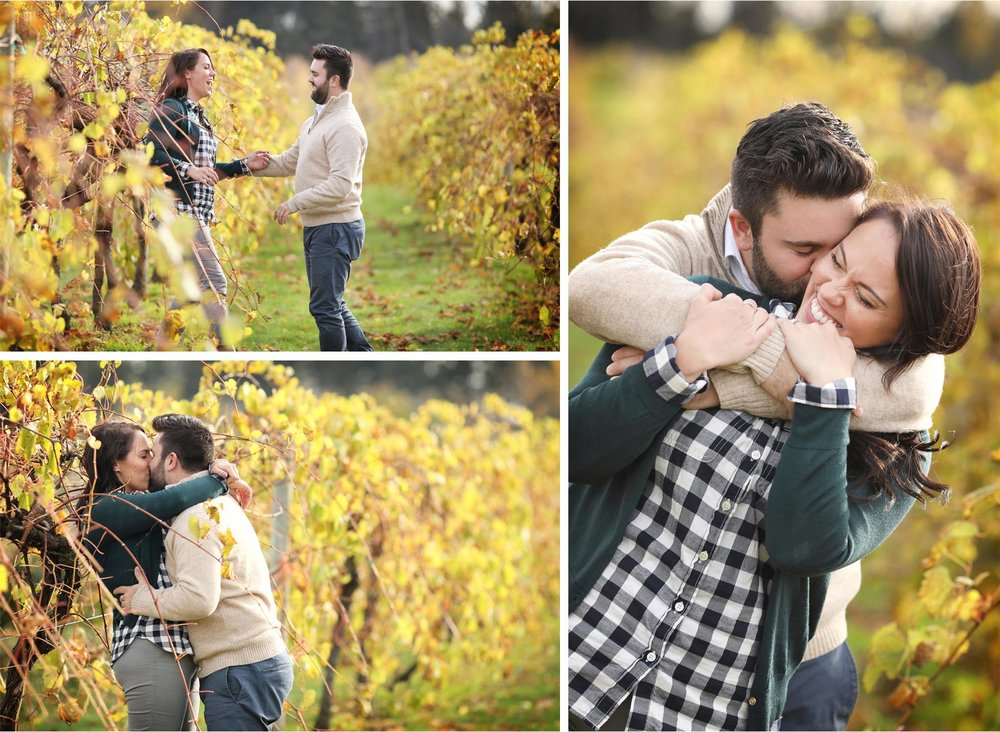 04-Stillwater-Minnesota-Wedding-Photographer-by-Andrew-Vick-Photography-Fall-Autumn-Engagement-Bride-Groom-Apple-Orchard-Vineyard-Kiss-Embrace-Hug-Vintage-Gillian-and-Nick.jpg