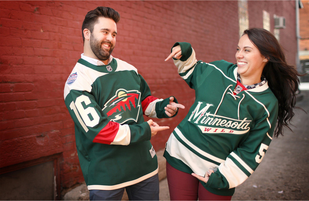 10-Stillwater-Minnesota-Wedding-Photographer-by-Andrew-Vick-Photography-Fall-Autumn-Engagement-Bride-Groom-Wild-Jerseys-Hockey-Gillian-and-Nick.jpg