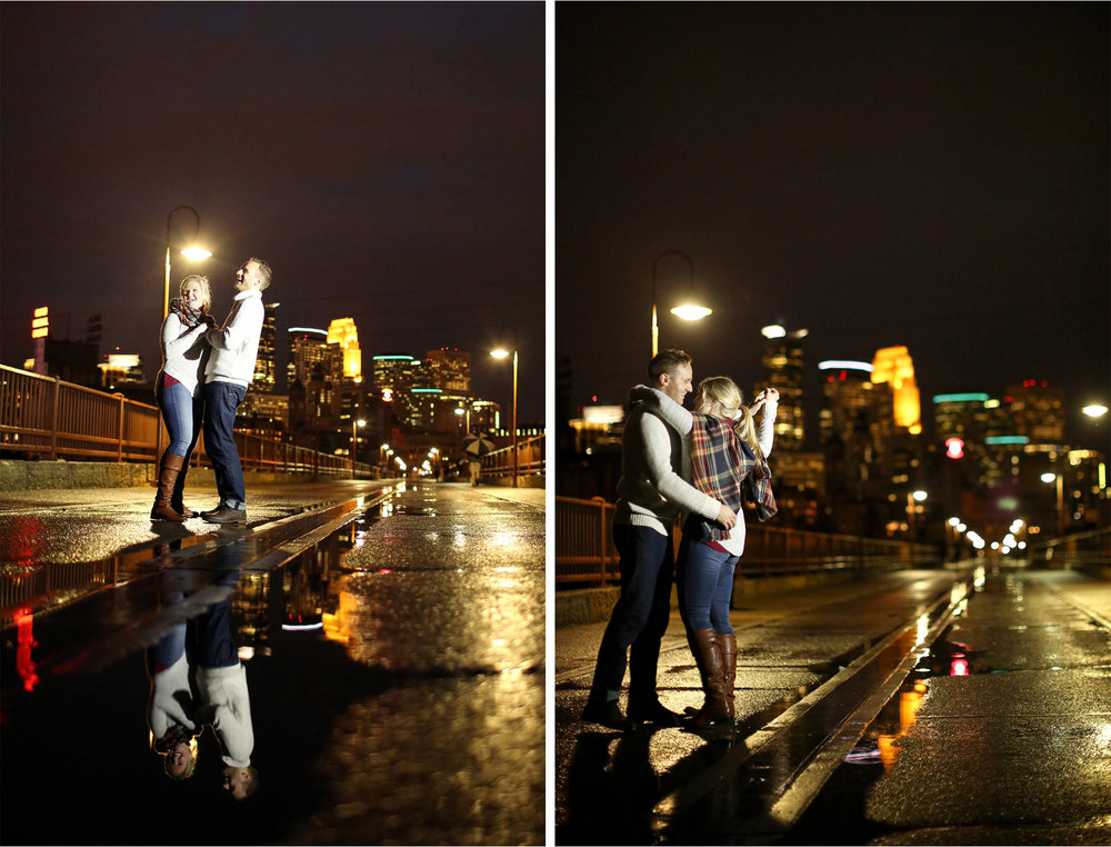 09-Minneapolis-Minnesota-Wedding-Photographer-by-Andrew-Vick-Photography-Fall-Autumn-Engagement-Bride-Groom-Downtown-Skyline-Stone-Arch-Bridge-Night-Dance-Mallory-and-Kyle.jpg