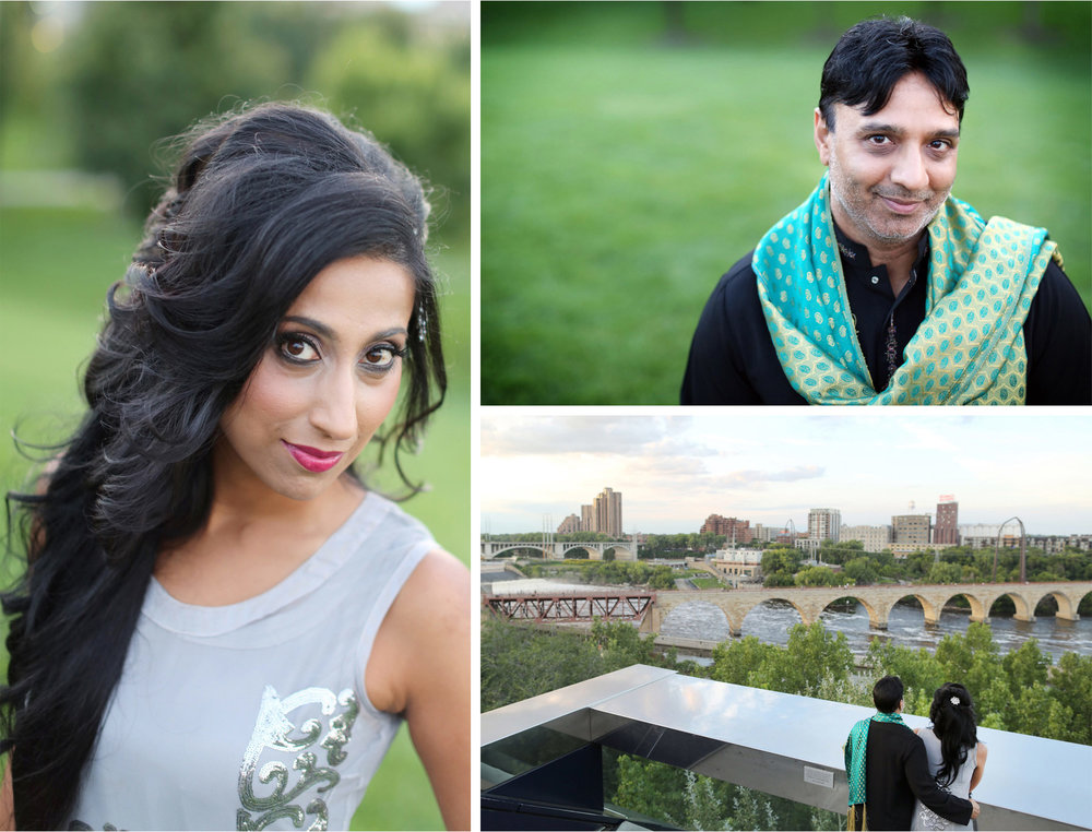 14-Minneapolis-Minnesota-Wedding-Photographer-by-Andrew-Vick-Photography-Summber-Engagement-Bride-Groom-Guthrie-Theater-Embrace-Tradional-Indian-Clothing-Stone-Arch-Bridge-Natasha-and-Sohail.jpg