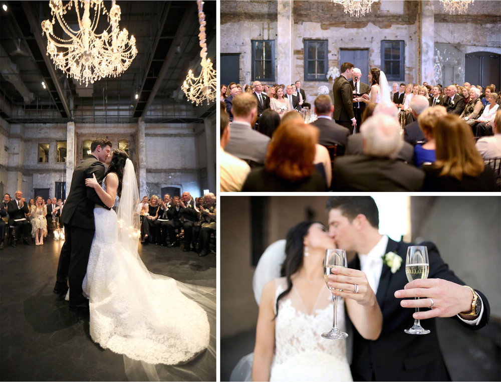 13-Minneapolis-Minnesota-Wedding-Photographer-by-Andrew-Vick-Photography-Aria-Spring-Ceremony-Bride-Groom-Rings-Kiss-Champagne-Alex-and-Andy.jpg