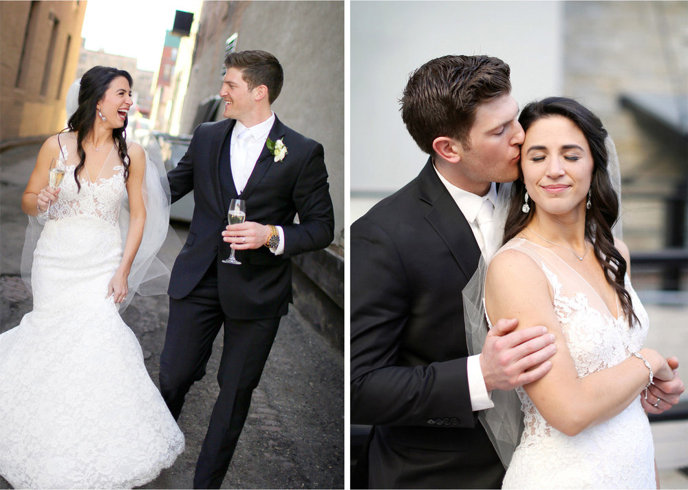 14-Minneapolis-Minnesota-Wedding-Photographer-by-Andrew-Vick-Photography-Aria-Spring-Bride-Groom-Champagne-Kiss-Embrace-Laughter-Alex-and-Andy.jpg