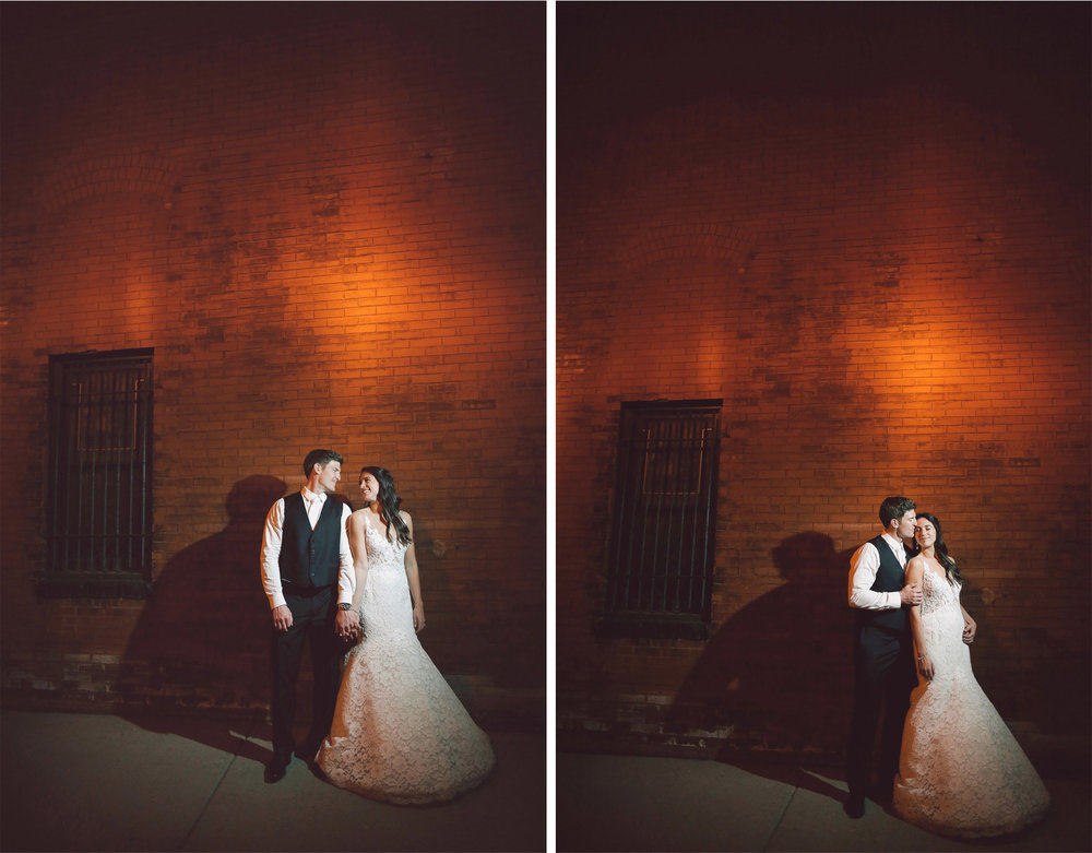 23-Minneapolis-Minnesota-Wedding-Photographer-by-Andrew-Vick-Photography-Aria-Spring-Reception-Bride-Groom-Embrace-Kiss-Night-Vintage-Alex-and-Andy.jpg