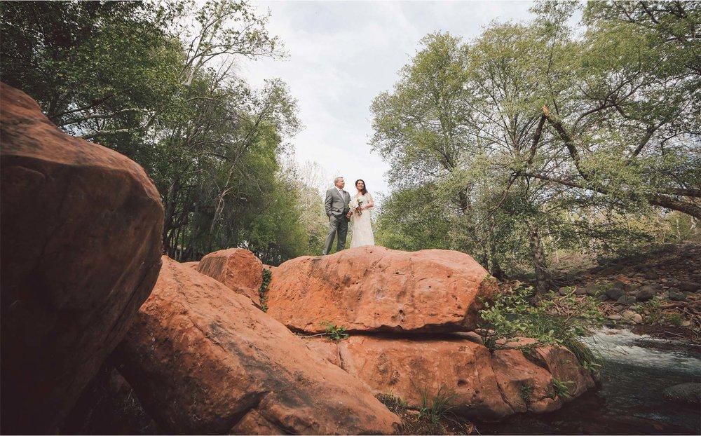 14-Sedona-Arizona-Wedding-Photographer-by-Andrew-Vick-Photography-Spring--LAuberge-de-Sedona-Resort-First-Meeting-Look-Bride-Groom-Creek-Vintage-Barbara-and-Mike.jpg