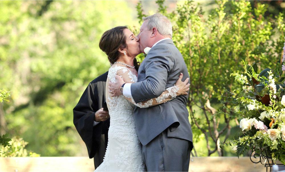 18-Sedona-Arizona-Wedding-Photographer-by-Andrew-Vick-Photography-Spring--LAuberge-de-Sedona-Resort-Ceremony-Garden-Lawn-Bride-Groom-Kiss-Barbara-and-Mike.jpg