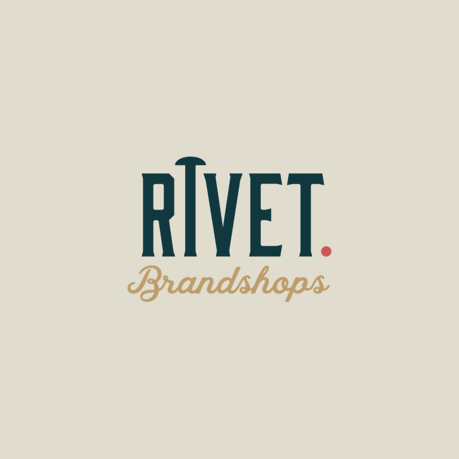 RIVET BRANDSHOPS   Brand identity design; a  Boomhitch  project