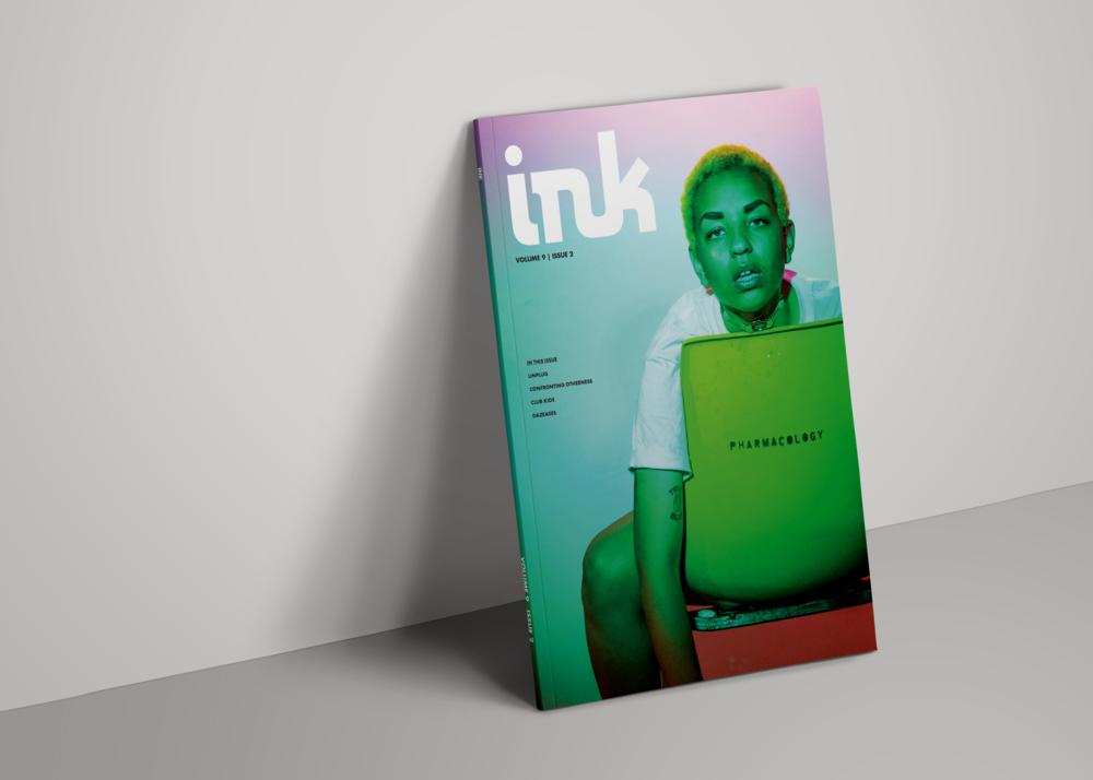 INK MAGAZINE   Print publication design