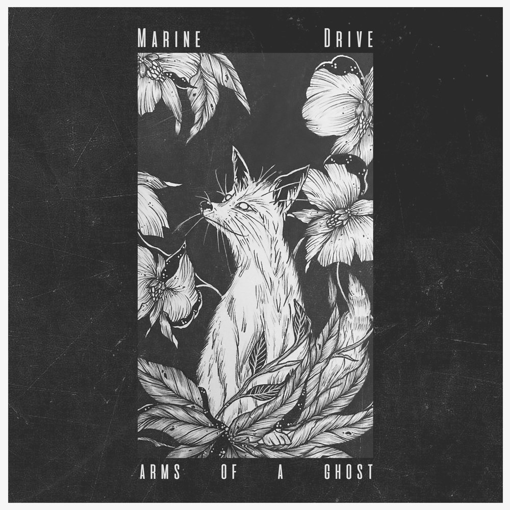 """ARMS OF A GHOSTDOWNLOAD / SAVE HERE - Marine Drive has released their debut single, """"Arms of a Ghost."""" Formerly known as CLüTE, the gritty alt-rock track explores themes of lust, awareness, support, and the intertwining of wants versus needs. It has a dark edge (""""was lost in a dream I awoke, as a slave to your desire"""") that is captured by chiming guitar lines, throbbing drum beats, and grief-stricken vocals.It may be cry for help and escape – a realization of a vicious cycle that produces more harm than good. The band displays this shared pain in an ominous, beautiful way that I believe would translate to a hard hitting and engaging live show.- Permanent Rain Presshttp://thepermanentrainpress.com/"""