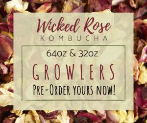 Wicked Rose Kombucha
