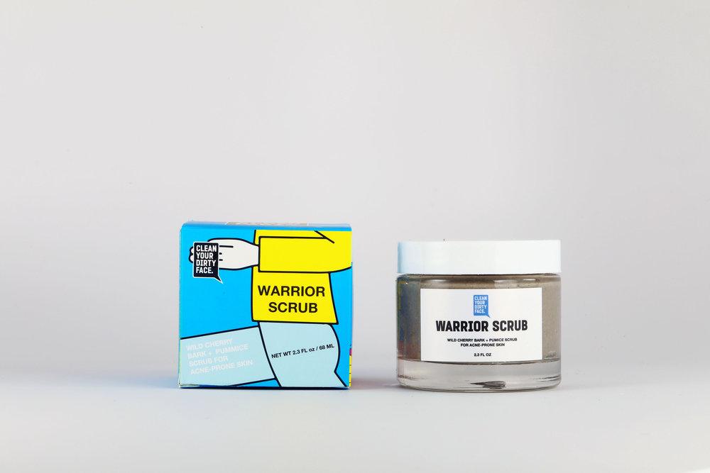 Warrior Scrub - $44.00
