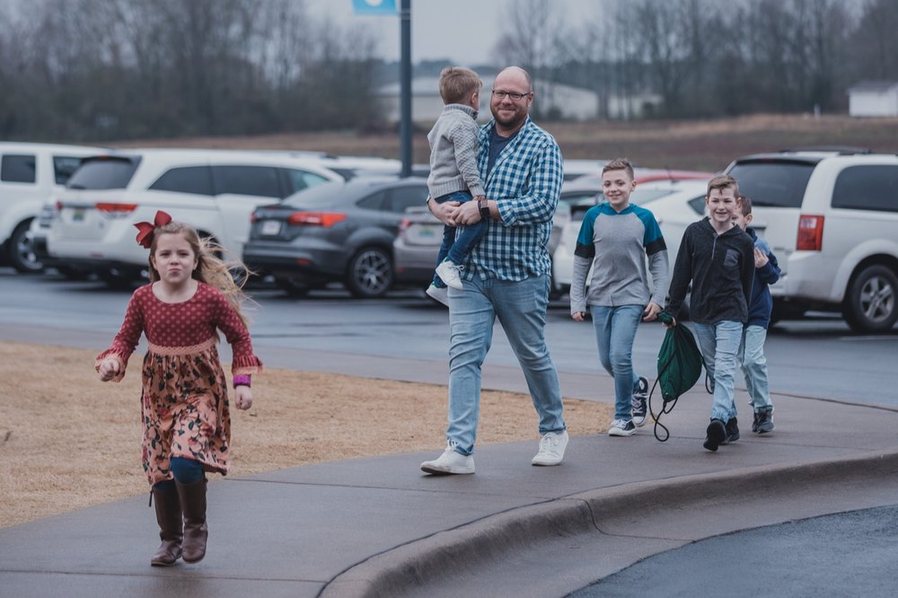 First Time Guests - Tell us you're new, so we can help. Turn your blinkers on when you pull into the parking lot. Our volunteers will direct you to the VIP parking area and escort you to FaithKids check-in.