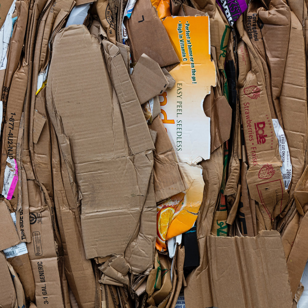 Last year, 194 tons of material put in county recycling were not recyclable. -