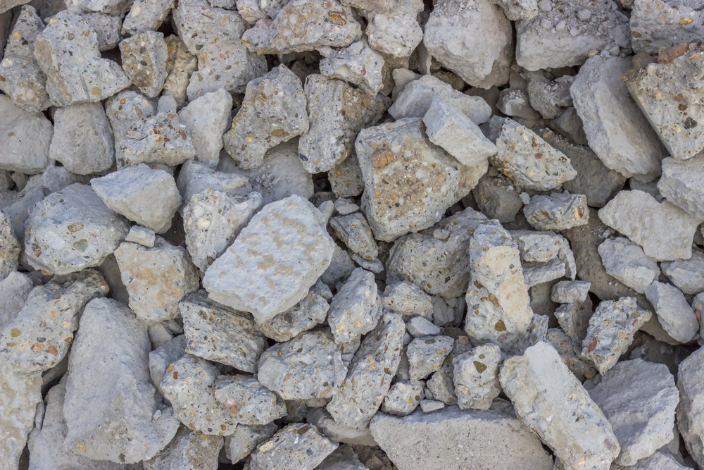Crushed Concrete -
