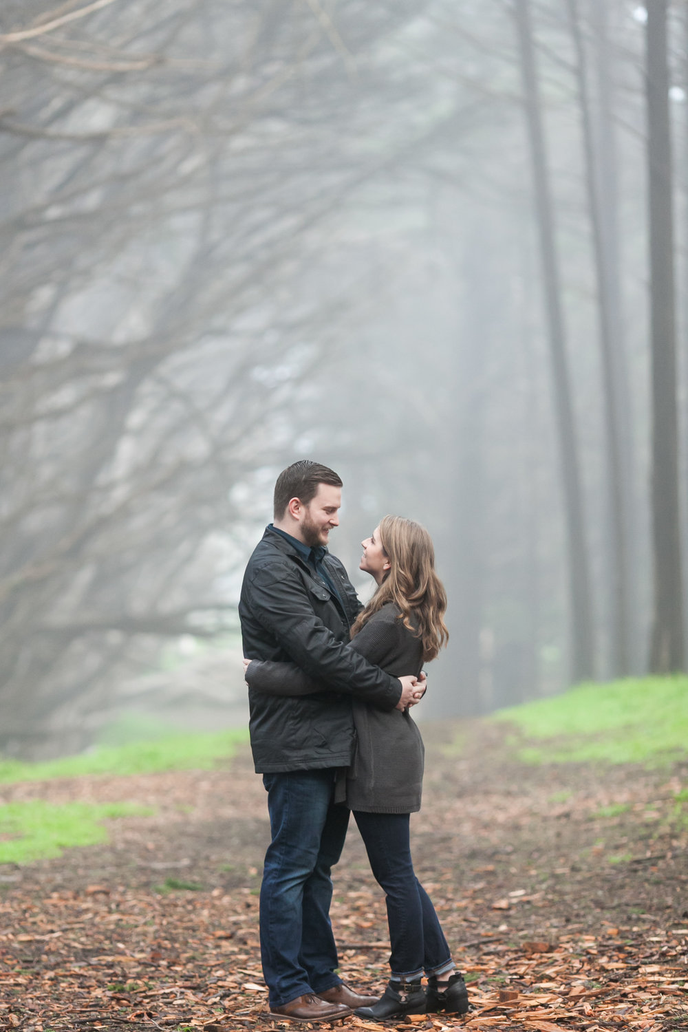 Fitzgerald Marine Reserve Engagement Session Moss Beach Coast