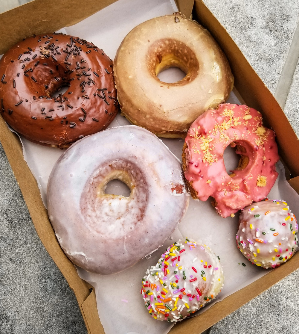 If you wanna try the special old fashion of the day, fine. But do NOT sleep on the yeast doughnuts at Doughnut Vault!