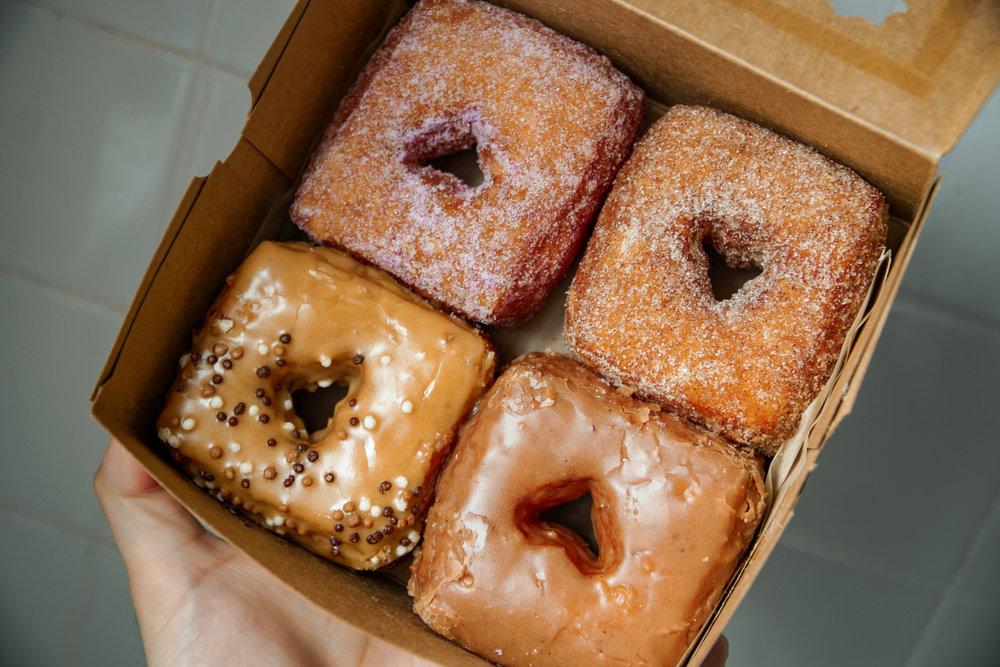 You don't need to serve over the top doughnut when you make a brioche dough as good as Mindy Segal.