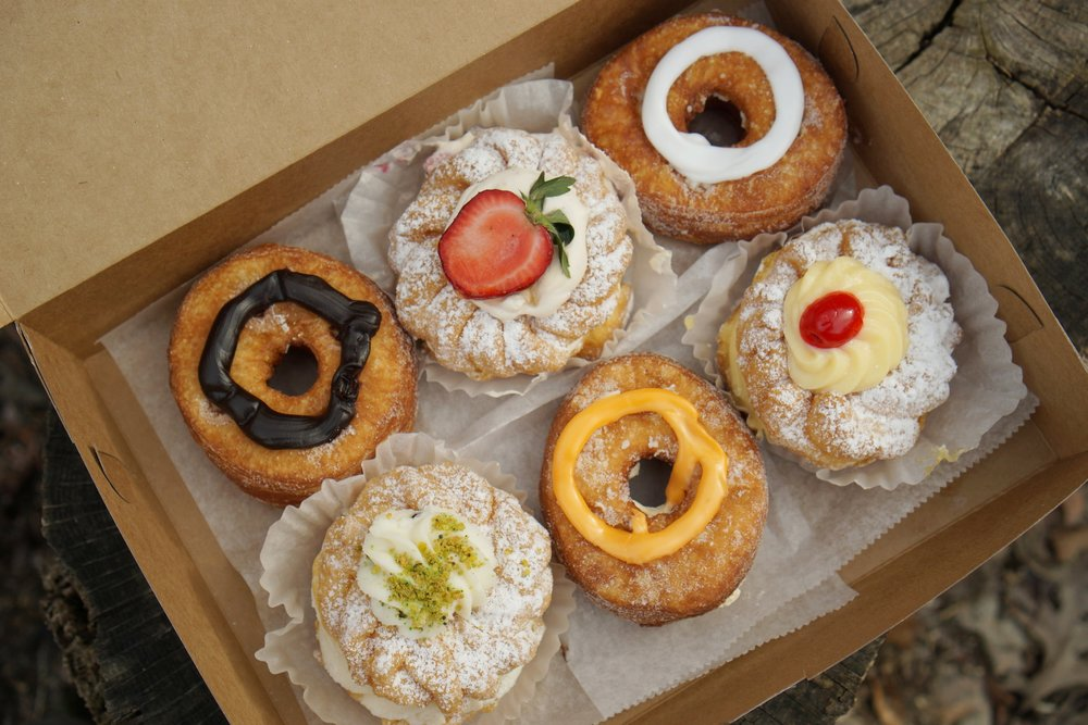 The seasonal Zeppole's are great but the cronuts are KING at Chicago Pastry