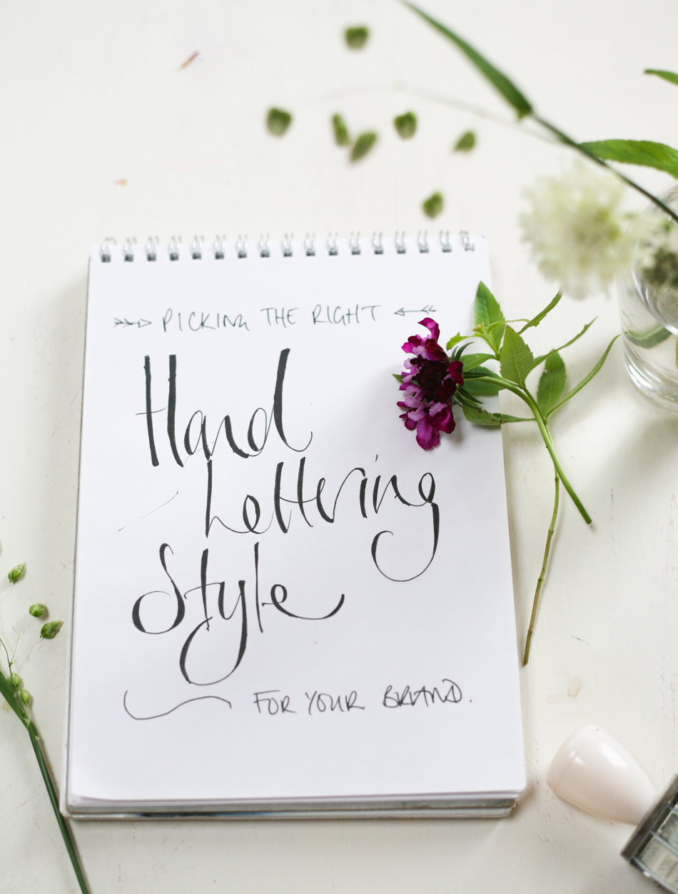 hand lettering how to pick the right style-1