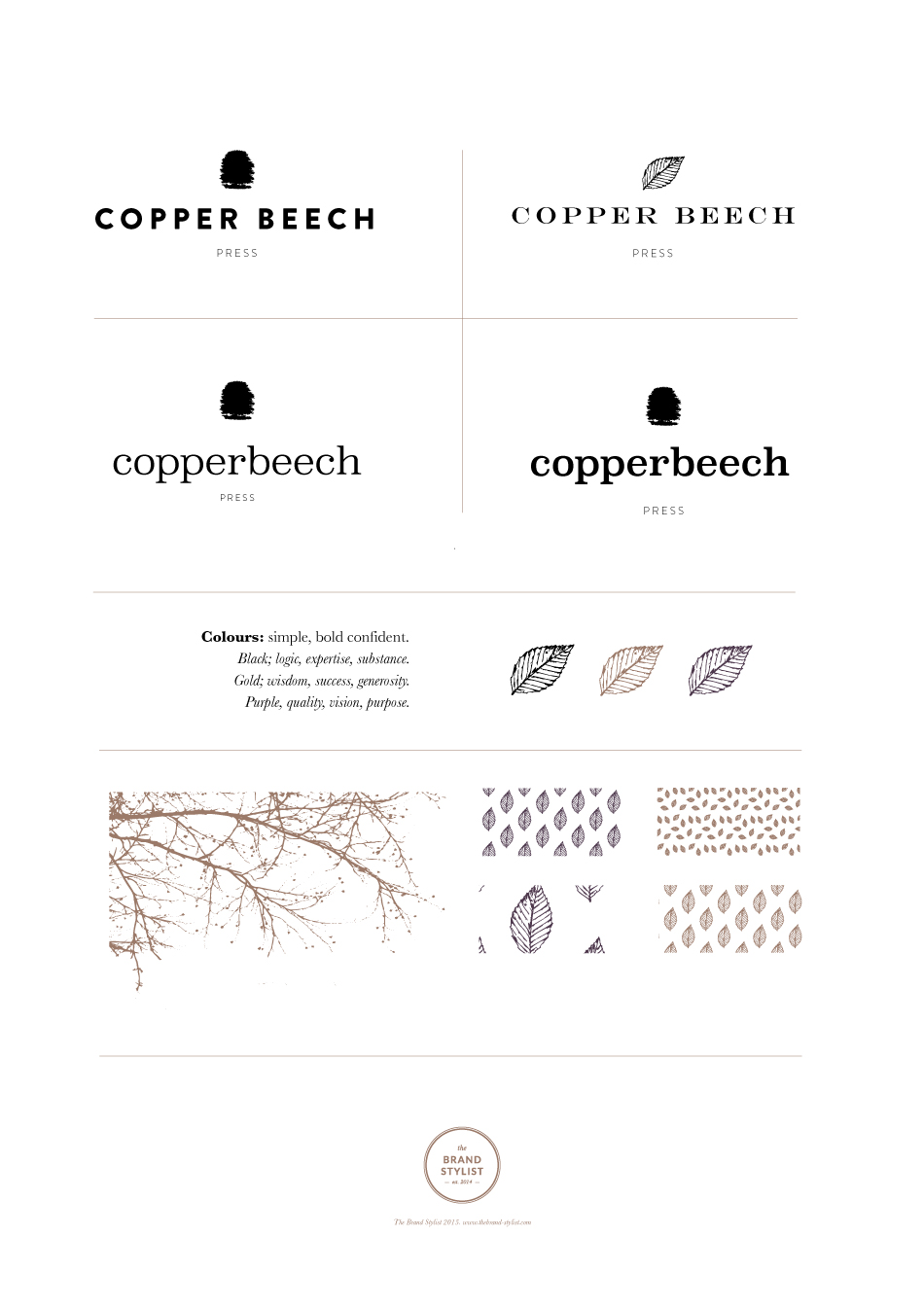 Copper-Beech-Press-Logo-Concepts