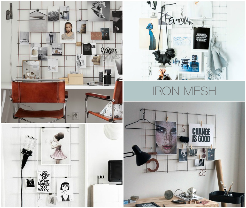 EclecticTrends-5 creative mood board techniques-Iron grid