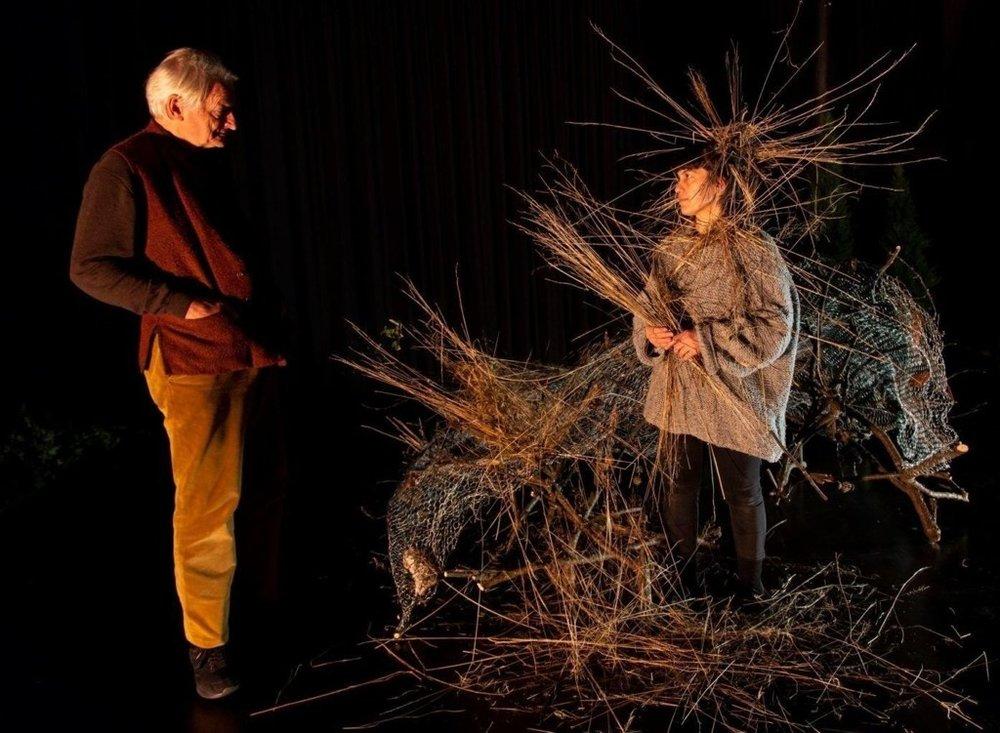 Foto fra teaterstykket «Ways of seeing» Leif Gabrielsen/Black Box teater