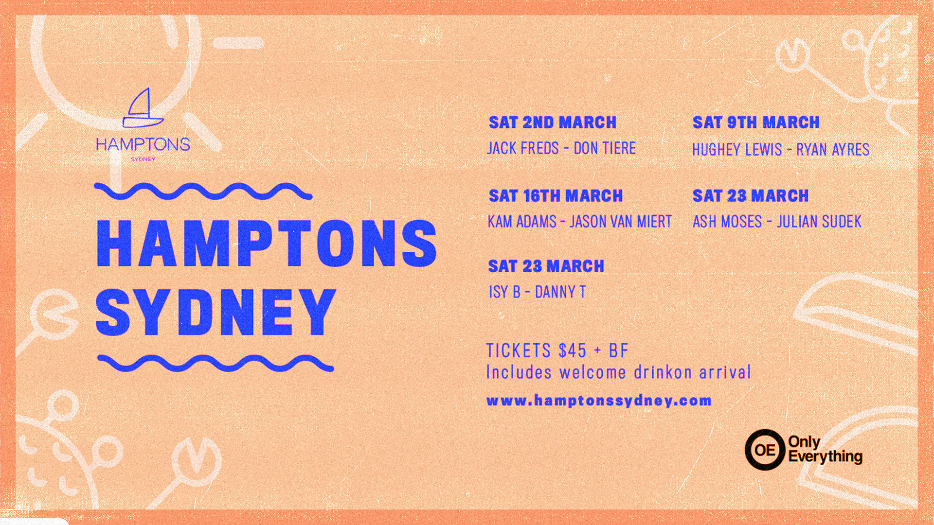 Hamptons Sydney - Events