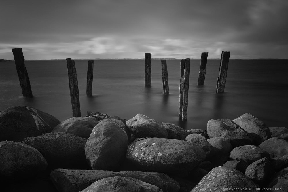 Remains of a jetty, Infrared