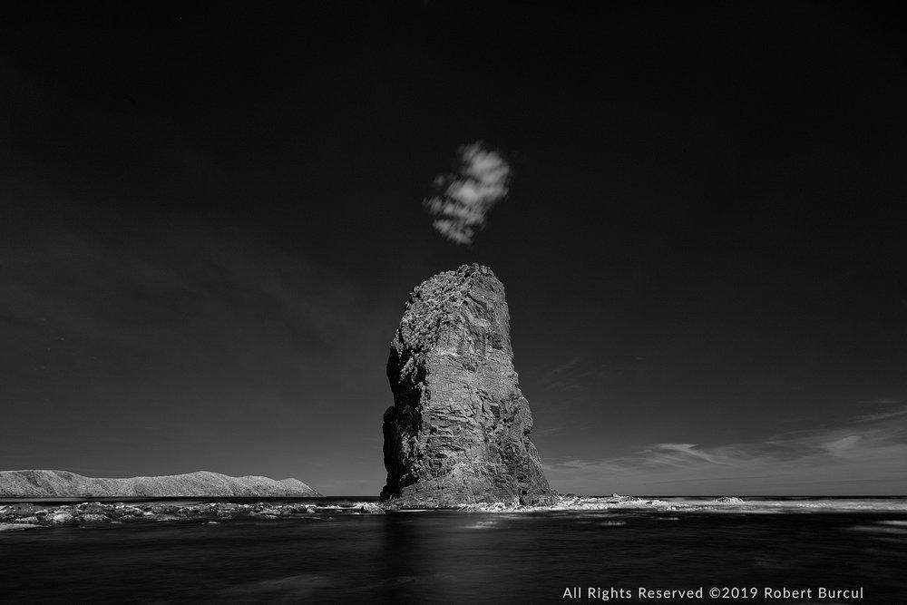 Lion Rock and cloud