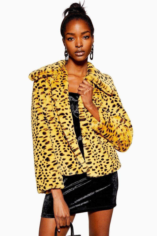 Cheetah Faux Fur Coat £59